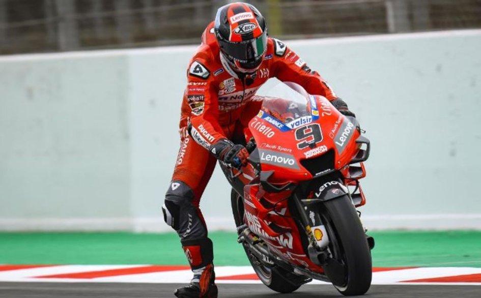 """MotoGP: Petrucci: """"Non avevo trazione, per il momento non sono da top five"""""""