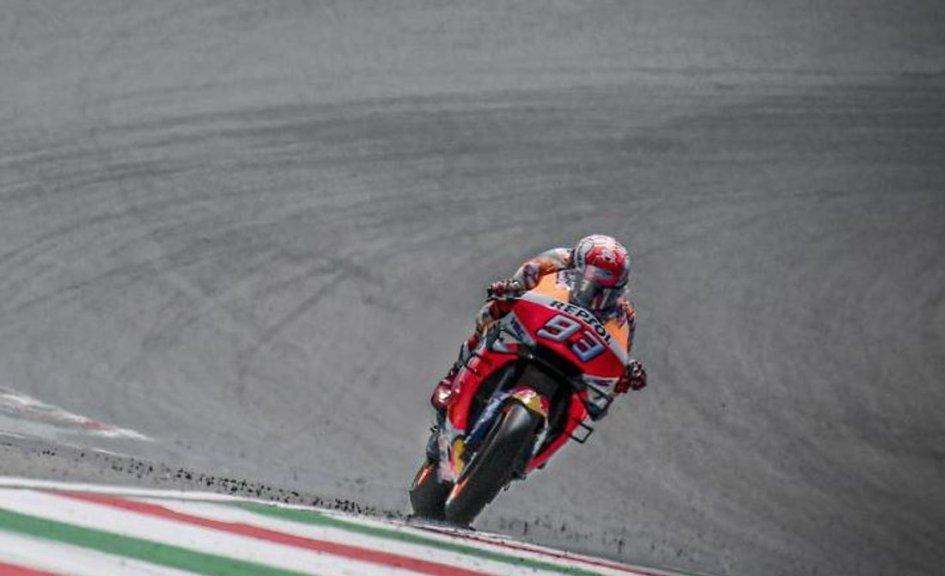 MotoGP: WUP: Marquez 1° e Dovizioso 3°, prove di duello al Mugello
