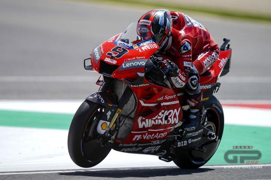 """MotoGP: Petrucci: """"Marquez va sempre al limite, anche nelle strategie"""""""