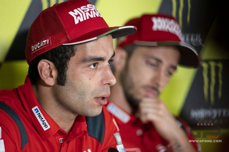 """MotoGP: Petrucci: """"Il Dream Team è Ducati, io e Dovi siamo due punte"""""""