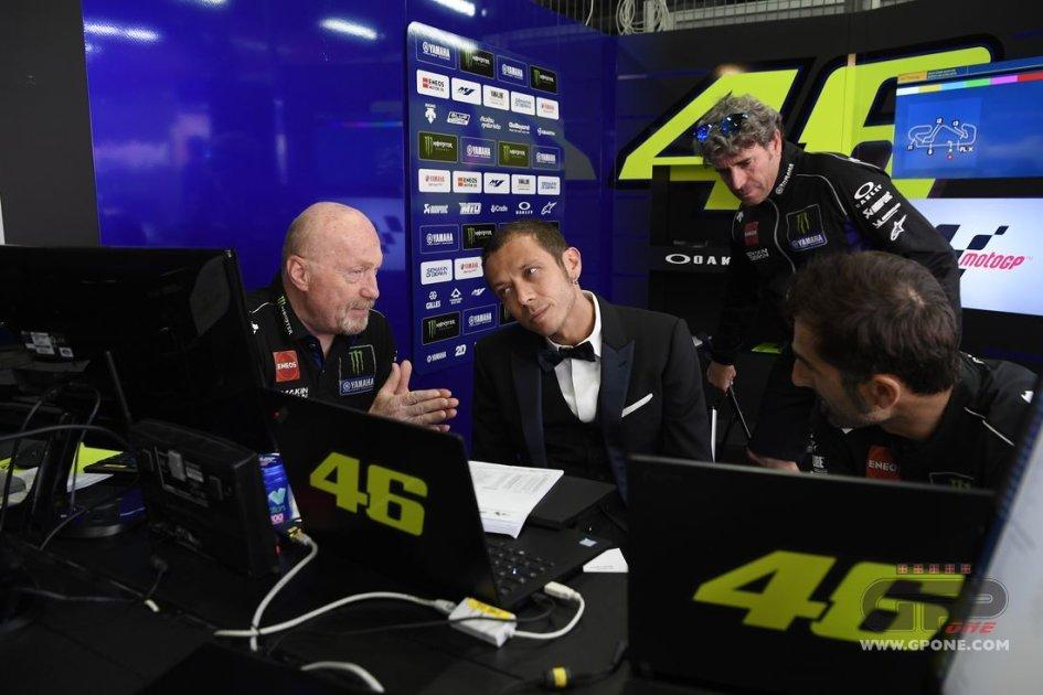 """MotoGP: Rossi: """"In Yamaha è un momento duro, ma mai come in Ducati"""""""