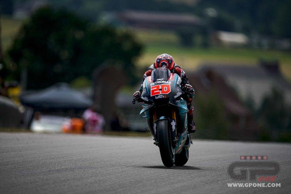 MotoGP: Quartararo: lussazione alla spalla, ma sarà in FP4