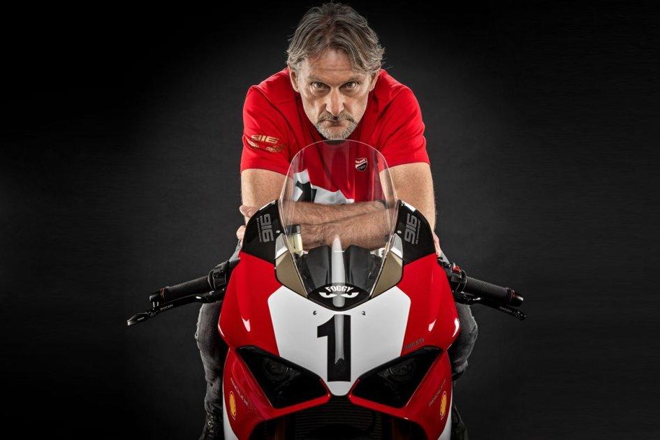 News Prodotto: Ducati celebra i 25 anni della 916 con una Panigale V4 ispirata a Fogarty