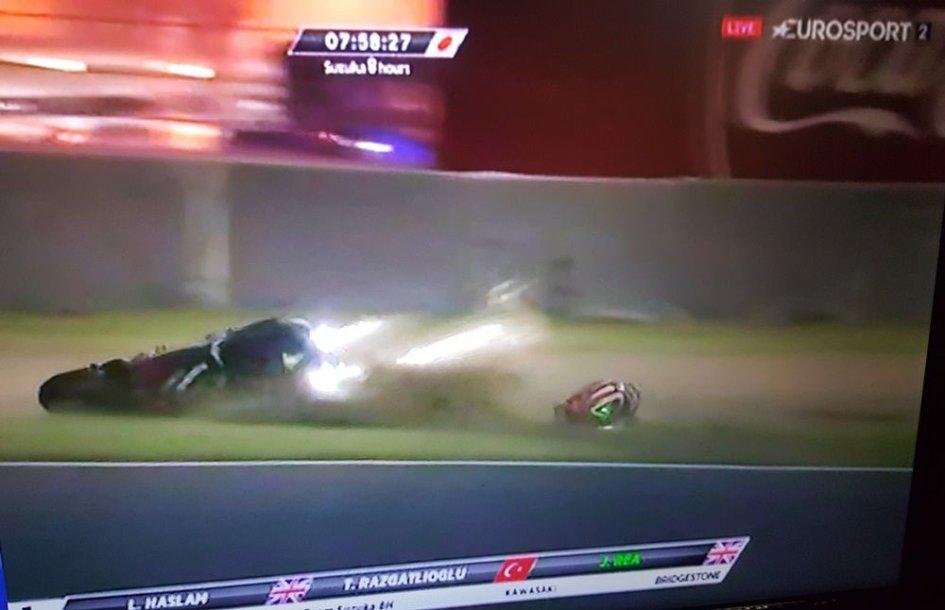 SBK: Suzuka: beffa Kawasaki, Rea cade a un minuto dalla fine, è trionfo Yamaha