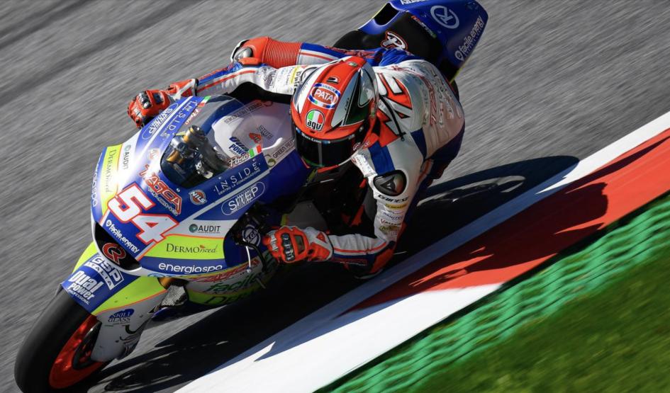 Moto2: FP3: Un Pasini da record beffa Alex Marquez in Austria