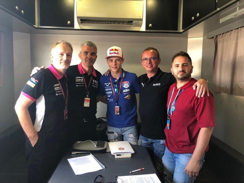 Moto2: Filip Salac al posto di Romano Fenati con Snipers nel 2020