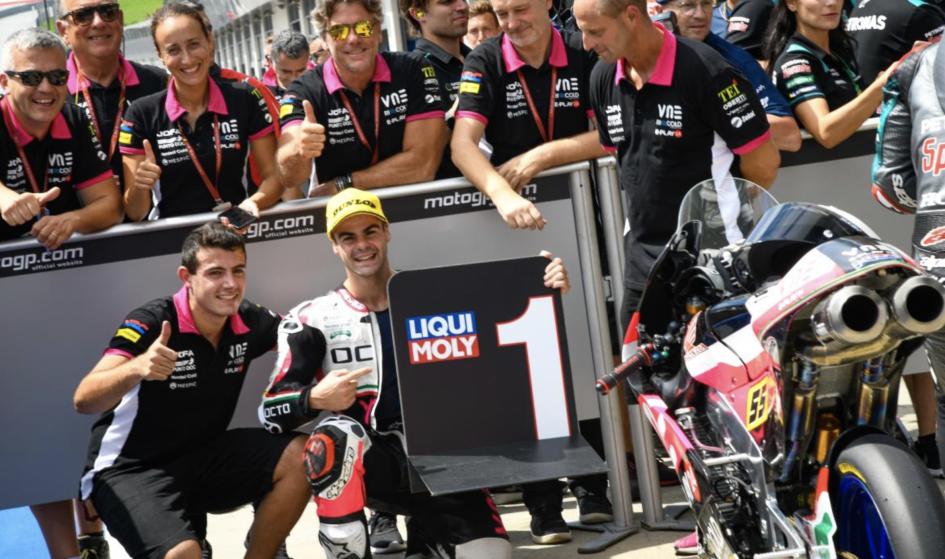Moto3: Fenati risorge: pole position al Red Bull Ring