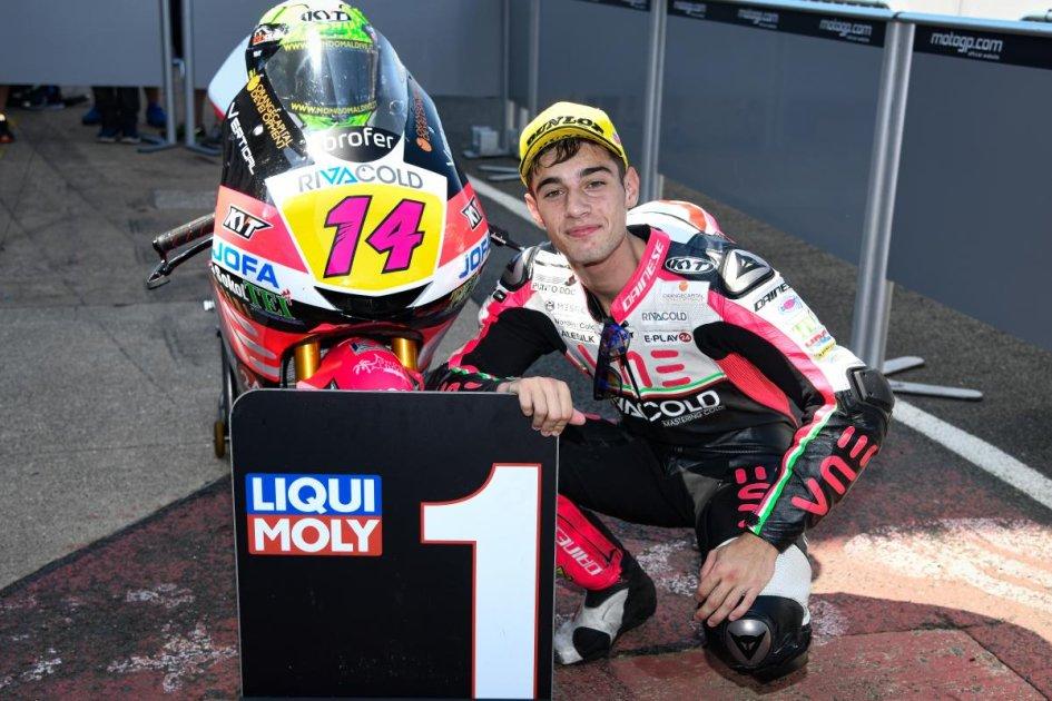 Moto3: Arbolino show a Silverstone: pole e record della pista