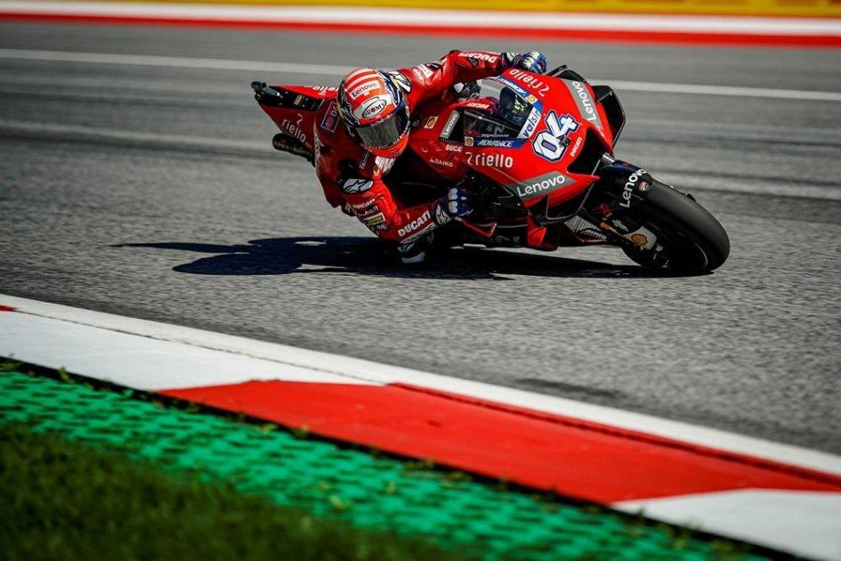 MotoGP: Dovizioso strepitoso, batte Marquez all'ultima curva al Red Bull Ring