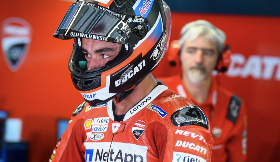 """MotoGP: Petrucci: """"I compromised another race. I'm not going in the afternoon."""""""