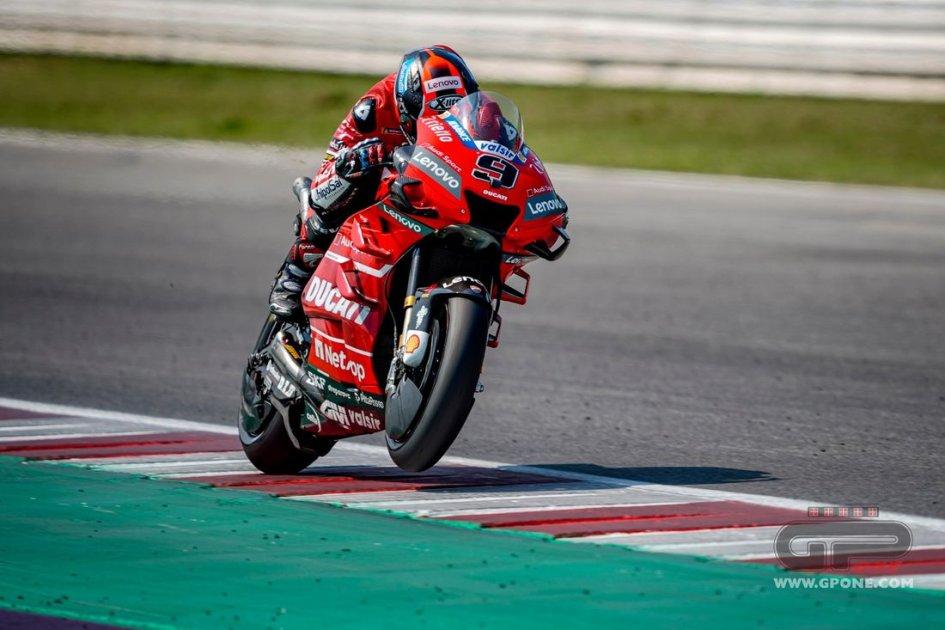 """MotoGP: Petrucci: """"Dovevo togliermi dei dubbi e ci sono riuscito"""""""