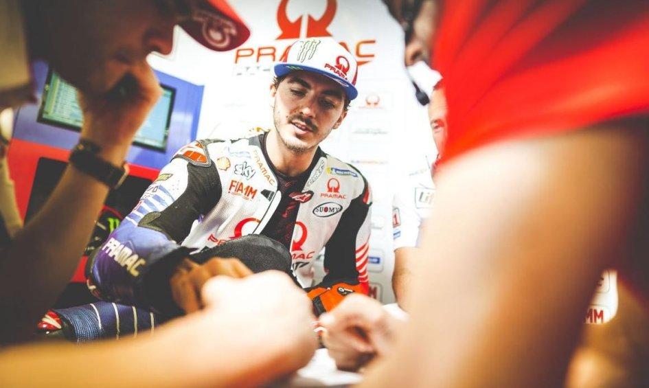 """MotoGP: Bagnaia: """"Sono caduto senza fare niente di strano"""""""