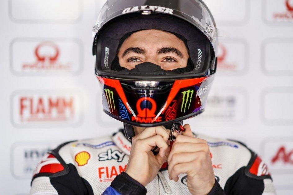 """MotoGP: Bagnaia: """"Sono più contento per il distacco che per la posizione"""""""