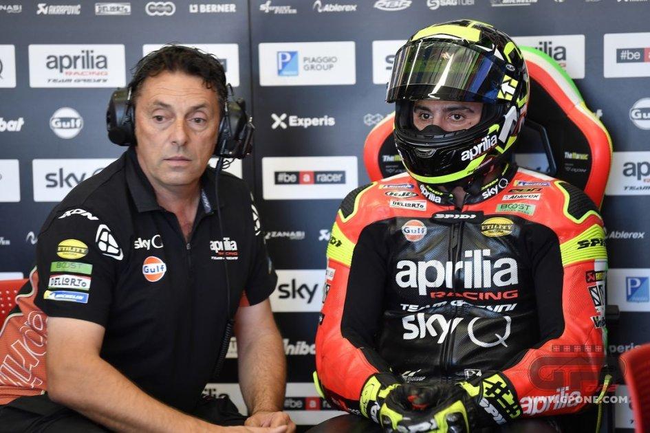 MotoGP: Aprilia reorganises: Cecchini promoted to technical coordinator