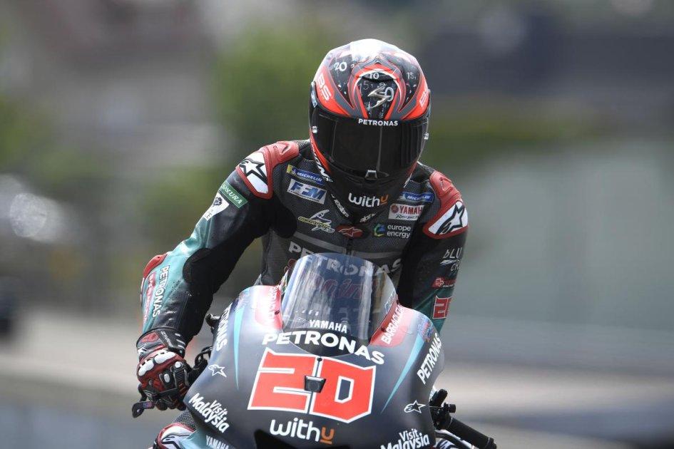 """MotoGP: Quartararo: """"Sono felice, con l'operazione non ho più dolori"""""""