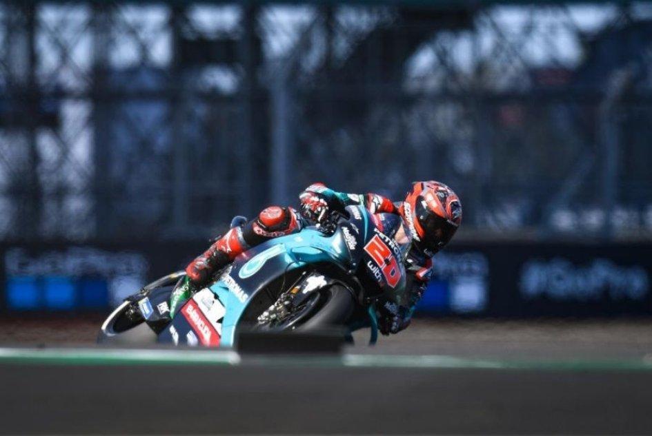 MotoGP: FP3: Doppietta Quartararo-Rossi a Silverstone, Dovizioso in Q1