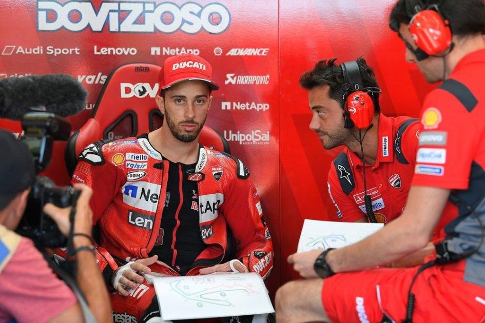 """MotoGP: Dovizioso: """"Mi preoccupano più le qualifiche della gara"""""""