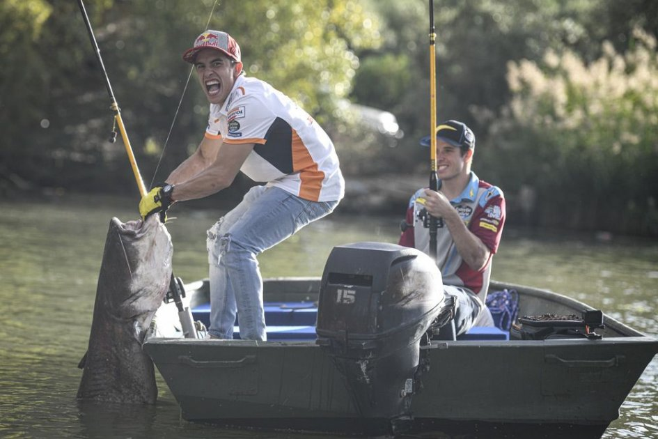 MotoGP: Marquez in Stoner's footsteps: fishing is the way to go