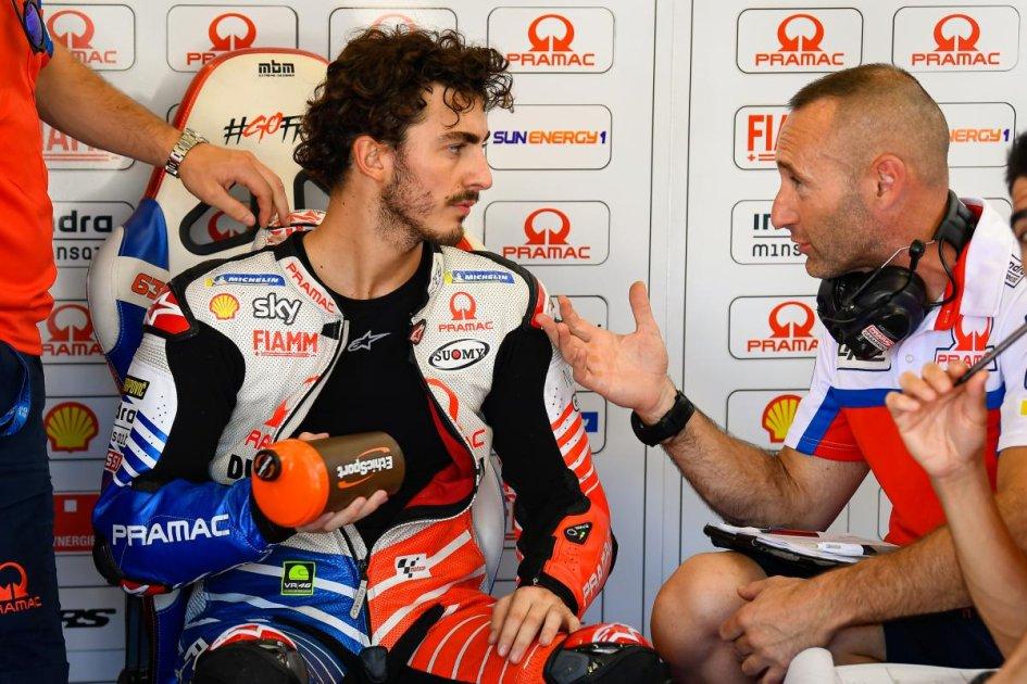 """MotoGP: Bagnaia: """"Peccato per le qualifiche, ma posso puntare alla top ten"""""""