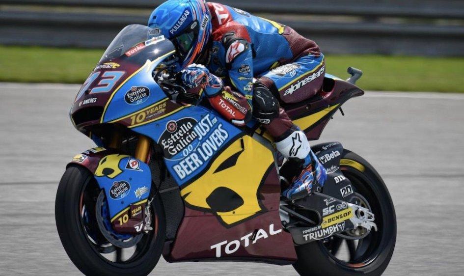 Moto2: Marquez da record a Buriram, è pole per Alex