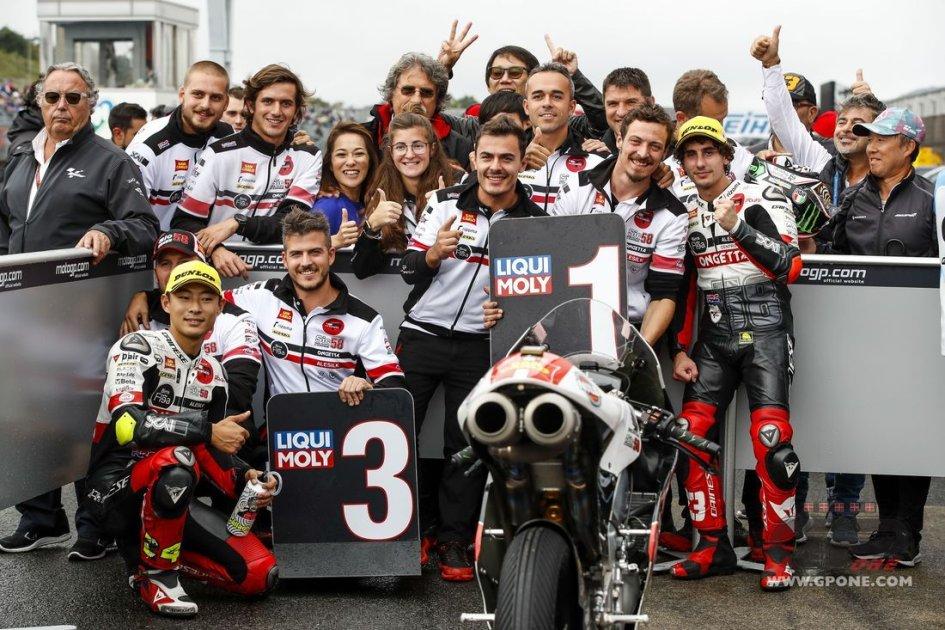 """Moto3: Antonelli: """"La pole position più emozionante della mia vita"""""""