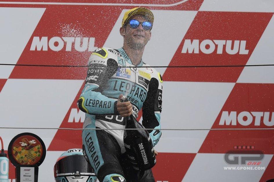 """Moto3: Dalla Porta: """"Prima di partire ho pianto pensando a mia nonna"""""""
