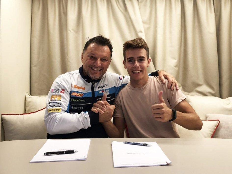 Moto3: Gresini punta su Jeremy Alcoba al posto di Riccardo Rossi per il 2020