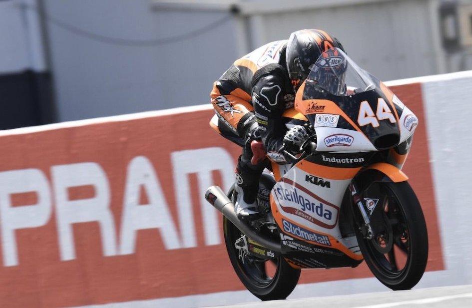 Moto3: FP2: Canet tenta il miracolo, 1° davanti a Dalla Porta