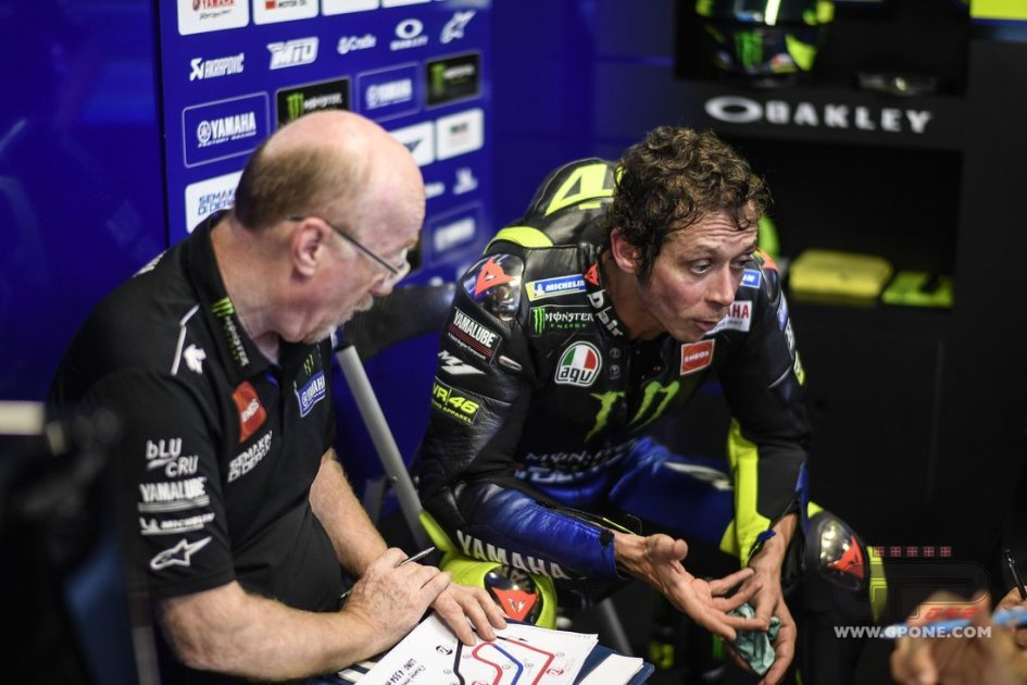 "MotoGP: Rossi: ""Ducati and Honda are stronger than Yamaha in the race"""