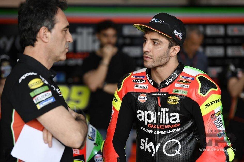 """MotoGP: Iannone: """"Le cose saranno più complicate per l'Aprilia a Sepang"""""""