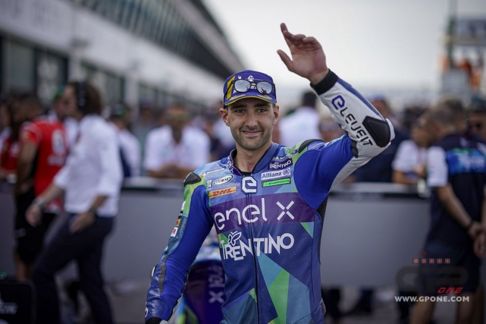 """MotoE: """"I'm fighting for the title without stressing and aiming for the Moto2"""""""