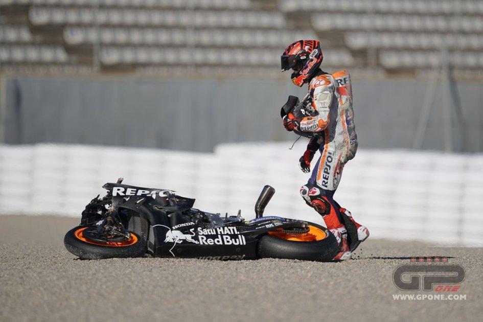 """MotoGP: Marc: """"Alex è partito troppo presto ed è caduto...come un vero Marquez"""""""