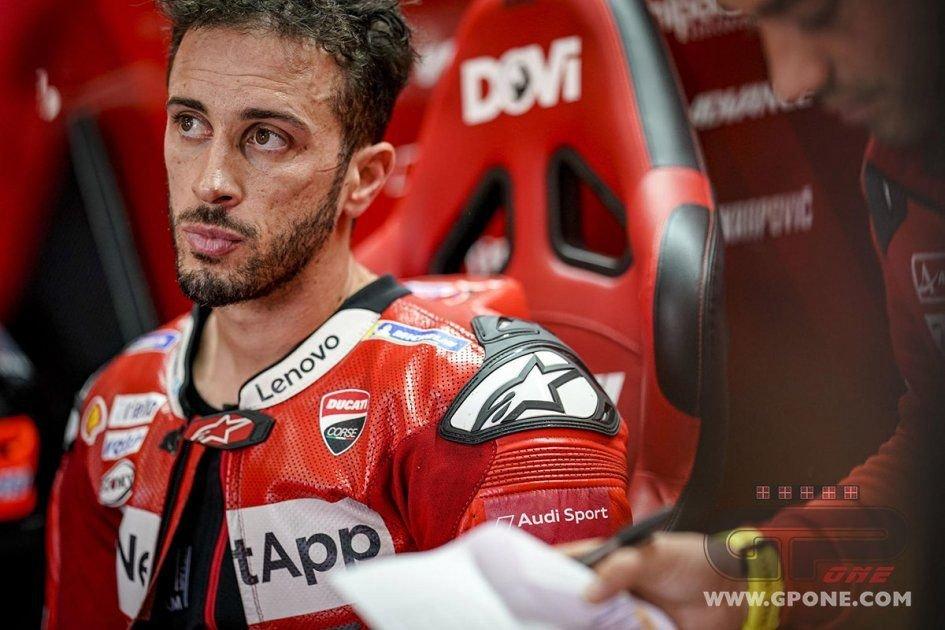 """MotoGP: Dovizioso, test Jerez: """"Con la Ducati non siamo ancora da Mondiale"""""""