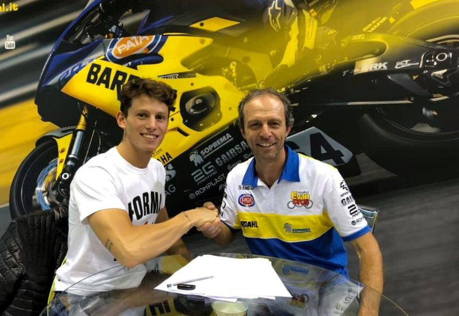 SBK: Arrivederci Motomondiale: Locatelli in SuperSport con Evan Bros