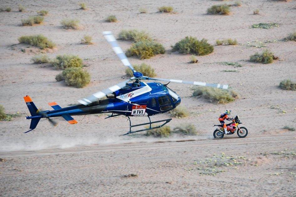 Dakar: TAPPA 5 - Riscossa KTM, 1° Price, in vetta resiste la Honda di Brabec