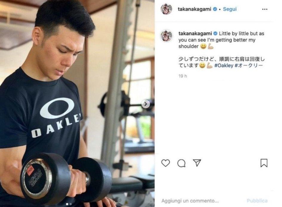 MotoGP: Nakagami, spalla ok ed equilibrio da ninja