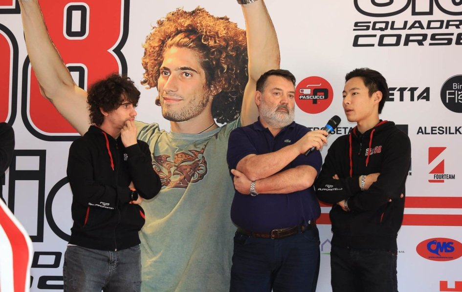"""Moto3: Suzuki: """"I'd like to move to the Moto2, and I'd like to do it with Paolo."""""""