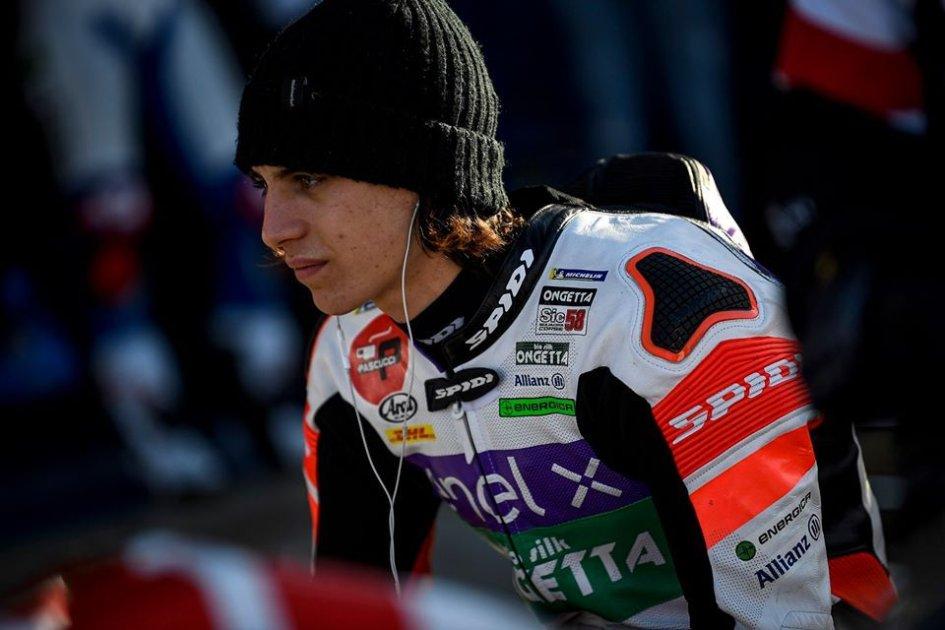"""MotoE: Casadei: """"Con Simoncelli sono in famiglia, voglio ripagarlo vincendo"""""""