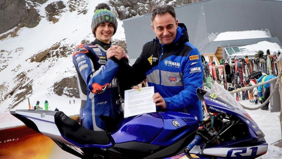 SBK: Axel Bassani riparte dalla SuperSport con Soradis Yamaha Motoxracing