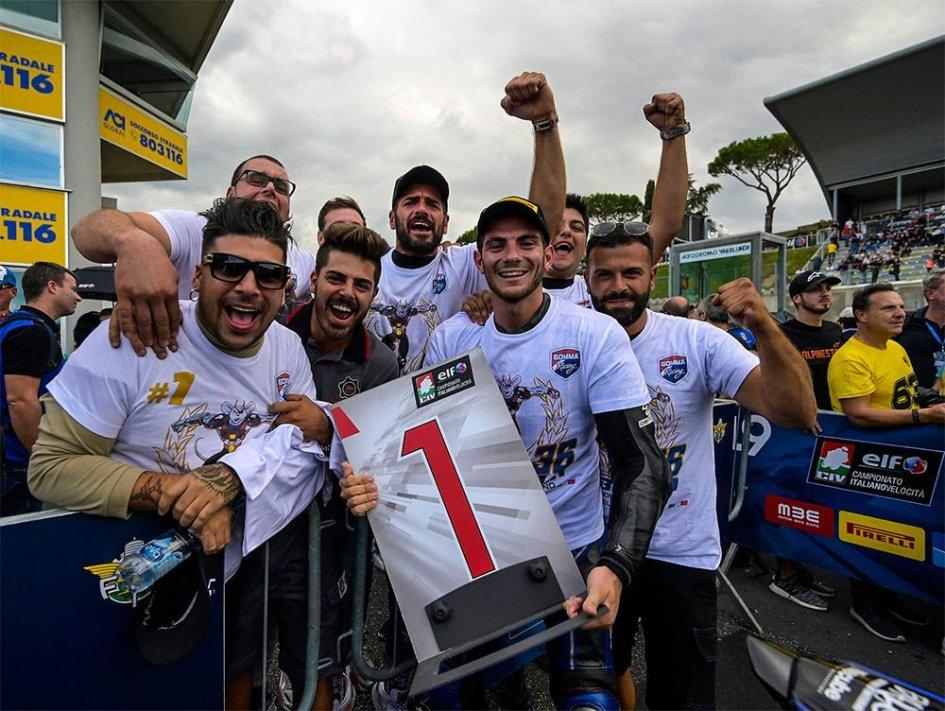 SBK: Il team Althea torna nel CIV con Honda e Lorenzo Gabellini