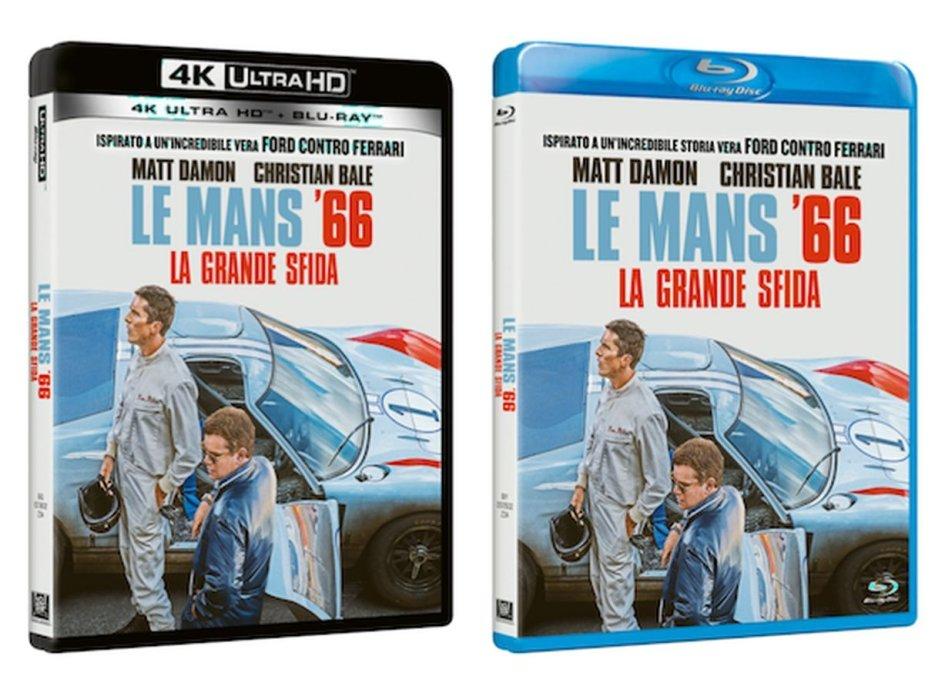 """Playtime - Cinema: Le Mans '66 – La Grande Sfida: ora, arriva anche """"dentro"""" le vostre case"""