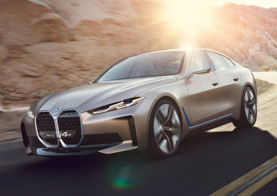 Auto - News: BMW Concept i4: il suono del futuro (e 530 cavalli!)