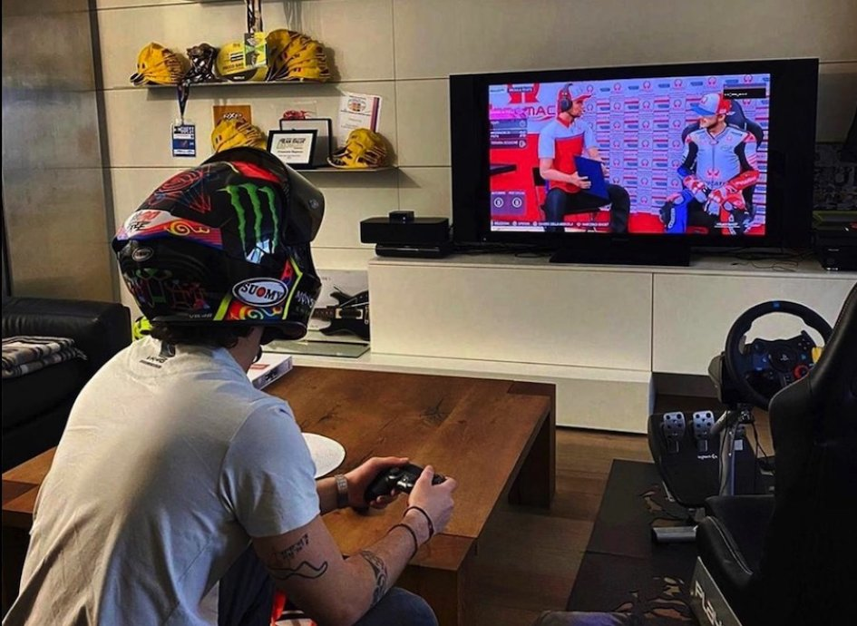 MotoGP: Safe training for Pecco Bagnaia in view of the Virtual Race