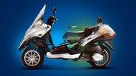 Moto - News: Piaggio MP3 Hybrid