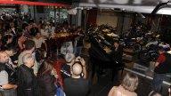 Moto - News: Inaugurato il Red Point Café Milano