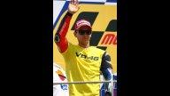 Moto - News: Valentino Rossi fermo dopo 230 partenze consecutive