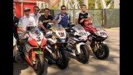Moto - News: WSBK, Imola: i piloti si scaldano a Mirabilanda