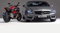 Moto - News: Anche Ducati nei Mercedes-Benz Spot