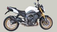 Moto - News: Exan: X-Black per Yamaha FZ8