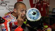 Moto - News: MotoGP 2011, Valentino Rossi: nuovo casco al Mugello
